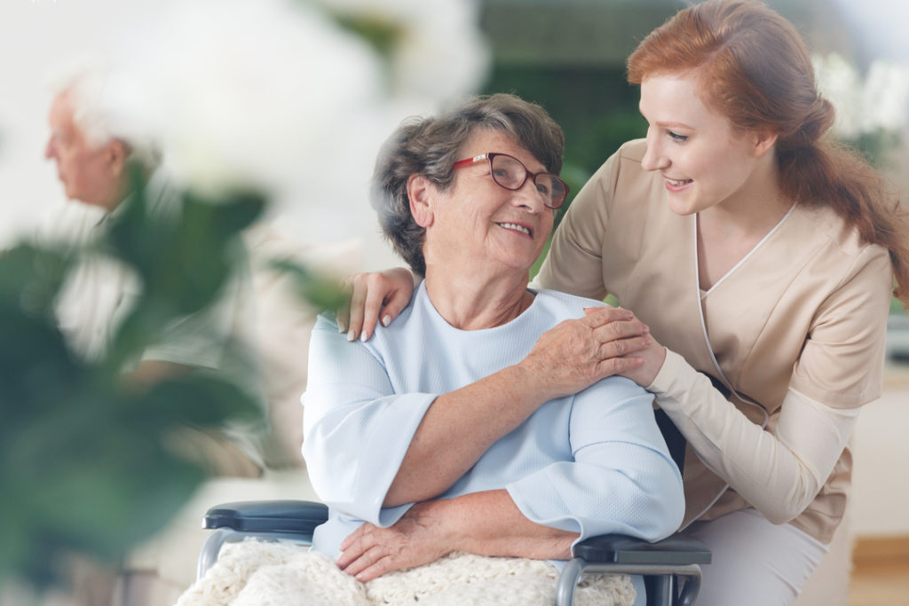Women with Caregiver