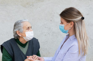 Caregiver-with-patient-mask